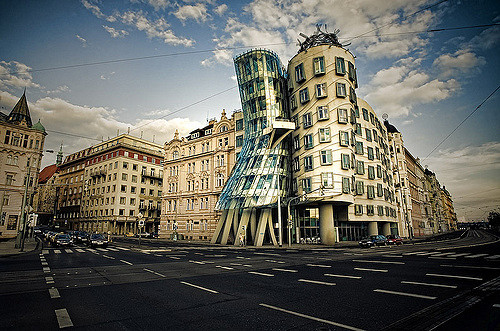 crazily shaped buildings of the world