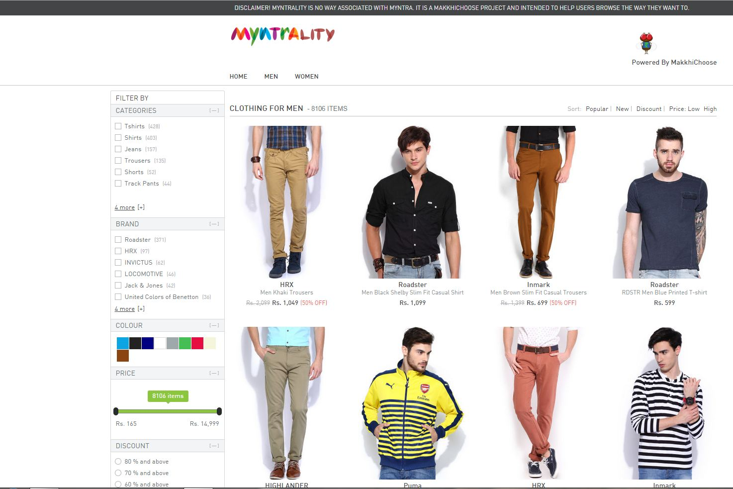 best online shopping sites for men
