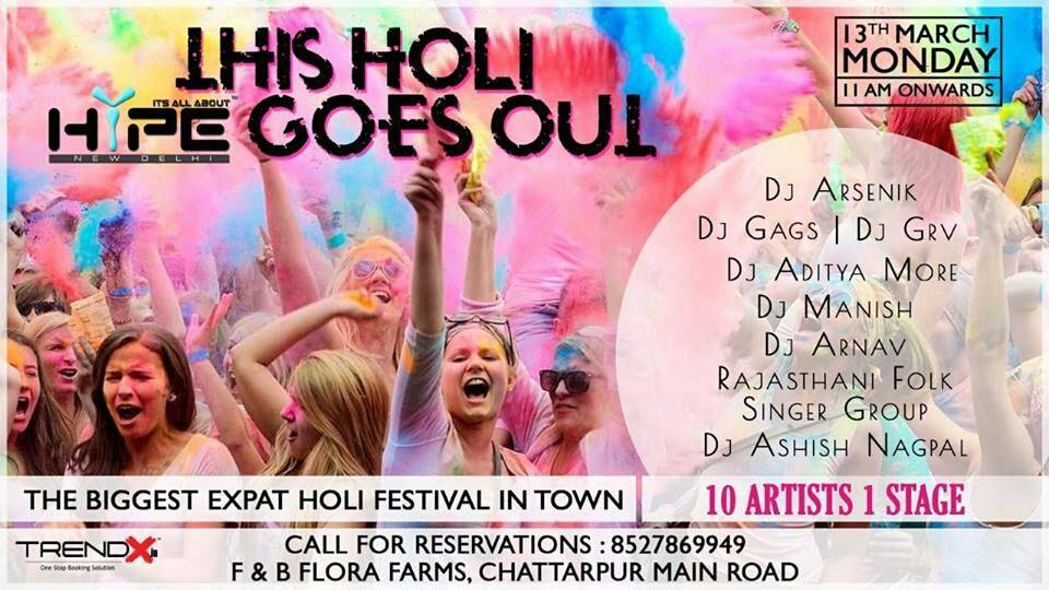 holi events
