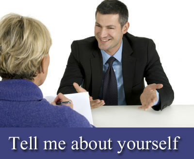 how to talk about yourself in interview example