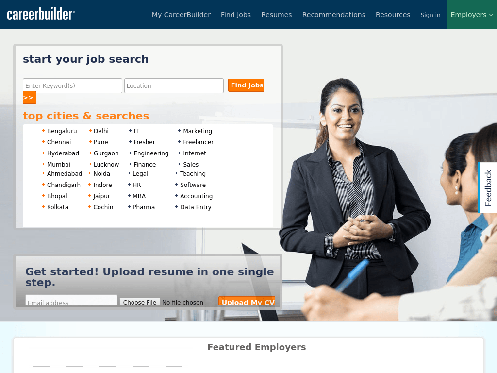 best job sites in india
